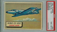 1957 Planes 24 Avro CF-100 PSA 8 Near Mint to Mint RED
