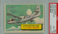 1957 Planes 31 Convertiplane PSA 8 Near Mint to Mint BLUE