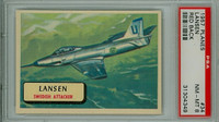 1957 Planes 34 Lansen PSA 8 Near Mint to Mint RED