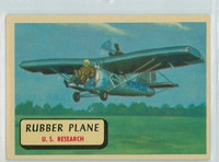 1957 Planes 38 Rubber Plane Excellent to Mint RED