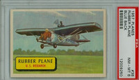 1957 Planes 38 Rubber Plane PSA 8 Near Mint to Mint BLUE
