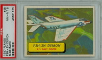 1957 Planes 48 F3H-2N Demon PSA 8 Near Mint to Mint BLUE