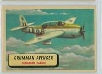 1957 Planes 49 Grumman Avenger Excellent RED