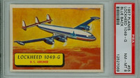 1957 Planes 55 1049-G Super Constellation PSA 8 Near Mint to Mint BLUE
