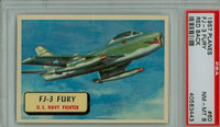 1957 Planes 60 FJ-3 Fury PSA 8 Near Mint to Mint RED