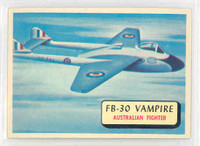 1957 Planes 64 FB-30 Vampire Near-Mint RED