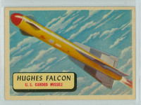 1957 Planes 73 Hughes Falcon Excellent to Mint RED
