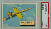1957 Planes 74 Lockheed X7 PSA 7 Near Mint RED