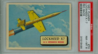 1957 Planes 74 Lockheed X7 PSA 8 Near Mint to Mint RED