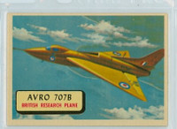 1957 Planes 76 AVRO 707B Excellent RED