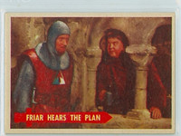 1957 Robin Hood 27 Friar Hears Plan Near-Mint