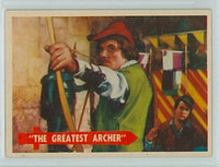 1957 Robin Hood 50 Greatest Archer Near-Mint