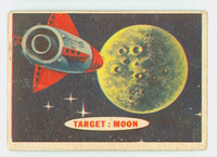 1957 Space 7 Target : Moon Fair to Poor