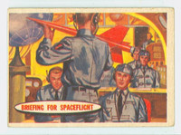 1957 Space 12 Briefing for Space Flight Fair to Poor