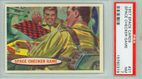 1957 Space 21 Space Checker Game PSA 7 Near Mint