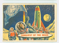 1957 Space 36 Conquest of the Moon Very Good to Excellent