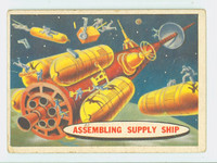 1957 Space 54 Assembling Supply Ship Fair to Poor