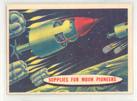1957 Space 55 Supplies for Moon Pioneers Excellent to Mint