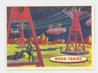 1957 Space 62 Moon Trains Near-Mint Plus
