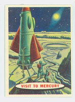 1957 Space 76 Visit to Mercury Excellent to Mint