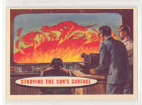 1957 Space 78 Studying the Sun's Surface Excellent to Excellent Plus