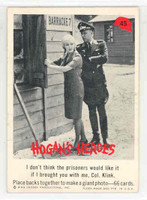 1965 Hogans Heroes 45 Helga and Klink Near-Mint