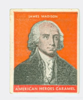 1932 Presidents 4 James Madison Very Good  Orange