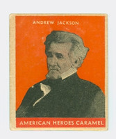 1932 Presidents 7 Andrew Jackson Very Good to Excellent  Orange