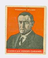 1932 Presidents 27 Woodrow Wilson Very Good  Orange