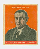 1932 Presidents 27 Woodrow Wilson Very Good to Excellent  Orange