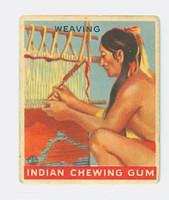 1933 Indian Gum 155 Weaving Good