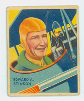 1933 Sky Birds 39 Edward A. Stinson Very Good to Excellent Series 144