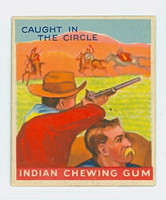 1947 Goudey Indians 84 Caught in the Circle Excellent to Mint