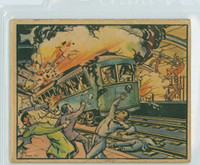 1938 Horrors of War 70 Subway Blast Kills Madrid Civilians Good to Very Good