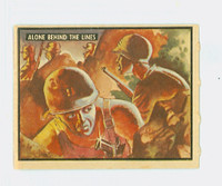 1950 Freedom's War 67 Alone Behind The Lines Excellent to Mint