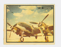 1950 Freedom's War 95 P-38 Lightning Near-Mint
