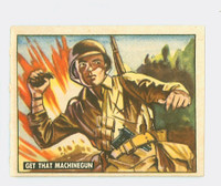 1950 Freedom's War 133 Get That Machine Gun Excellent to Excellent Plus