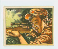 1950 Freedom's War 166 Red Sniper Very Good to Excellent