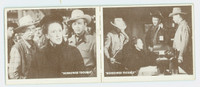 1950 Hopalong Cassidy Pair: 30 The Threat / 31 Missing Teacher Excellent to Mint