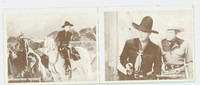 1950 Hopalong Cassidy Pair: 37 Secret Cabin / 38 Silent Danger Excellent to Mint