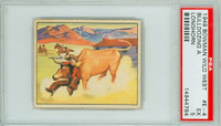 1950 Wild West E-4 Building a Longhorn PSA 5 Excellent