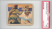 1950 Wild West A-6 Horseback Duel PSA 7 Near Mint