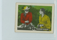 1950s Ed-U-Card Lone Ranger 58 Dangerous Plan Good to Very Good