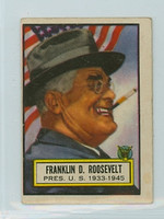 1952 Look N See 1 Franklin Roosevelt Good to Very Good