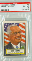 1952 Look N See 5 Harry Truman PSA 6 Excellent to Mint