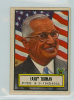 1952 Look N See 5 Harry Truman Excellent