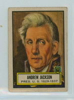 1952 Look N See 8 Andrew Jackson Fair to Poor