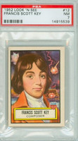 1952 Look N See 12 Francis Scott Key PSA 7 Near Mint