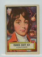 1952 Look N See 12 Francis Scott Key Very Good