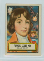 1952 Look N See 12 Francis Scott Key Near-Mint